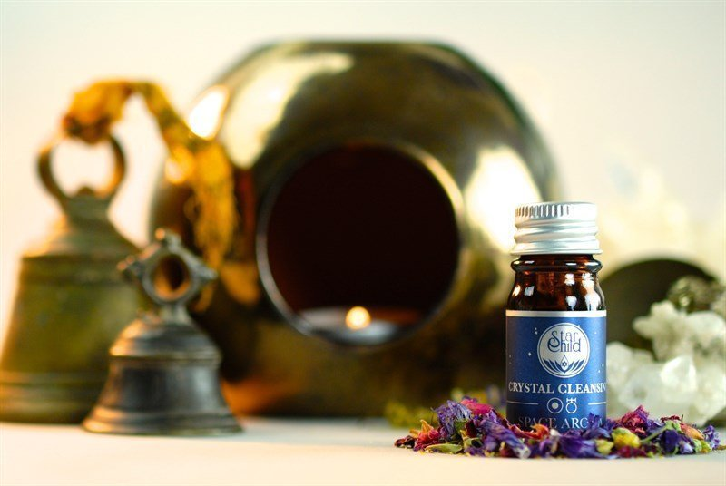 crystal cleansing olio essenziale Star Child