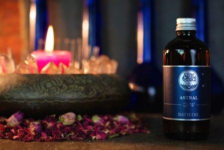 astral- olio da bagno