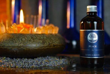 olio da massaggio Peace