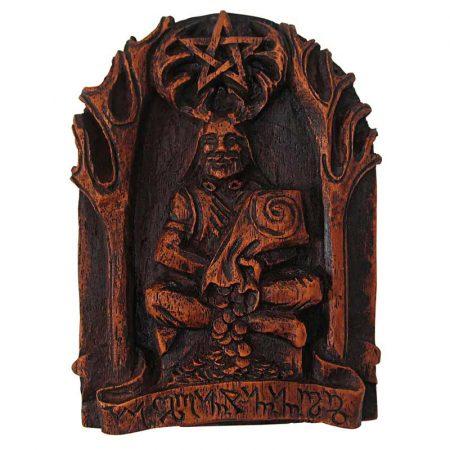 statua del Dio Cernunno