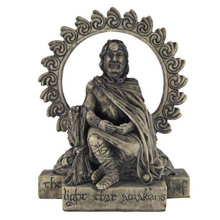 statua pagana del Dio Lugh