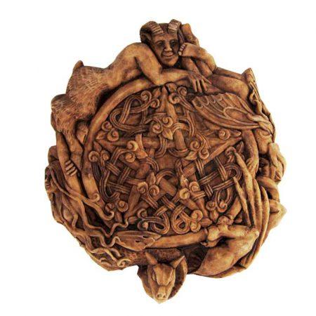 scultura pentacolo delle fate