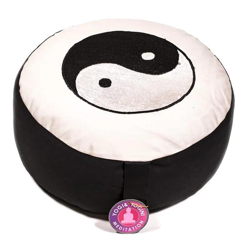 cuscino zafu con Ying-Yang