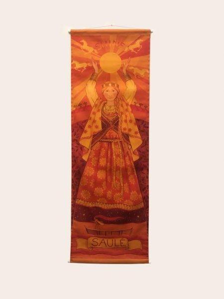 """Banner di Wendy Andrews """"Saule"""""""
